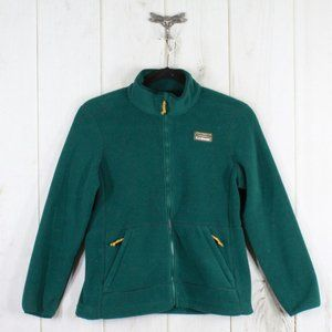 LL BEAN Mountain Classic Fleece Jacket Size M